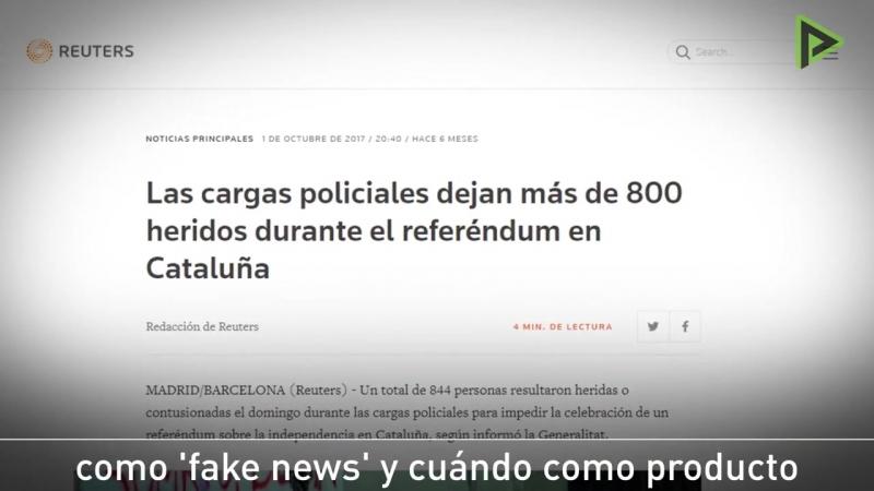 Inna Afinogenova: ¿Qué diferencia los errores de las 'fake news'?