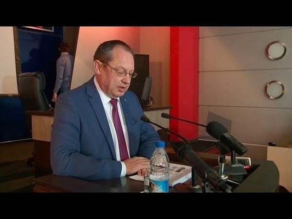 Отчёт главы Бийска о проделанной работе мэрии в 2018 году Будни 21 03 19г Бийское телевидение