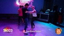 Walid Belkabir and Valesca Kipping Salsa Dancing at Riga Salsa Festival 2018, Friday 10.08.2018