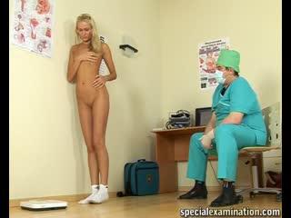 Katerina (22 y.o.) [specialexamination] [medical fetish, gyno exam, legal teen, tiny tits, socks, gymnastics]