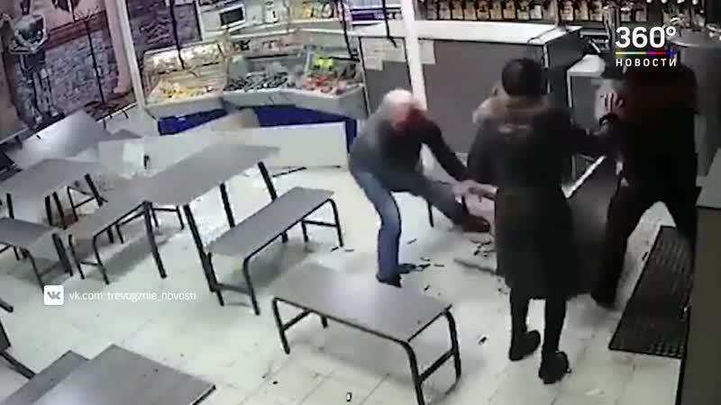Дебош в Сызранском баре