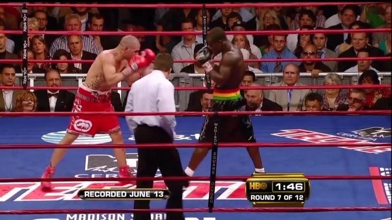 Мигель Котто vs Джошуа Клотти полный бой 13.06.2009