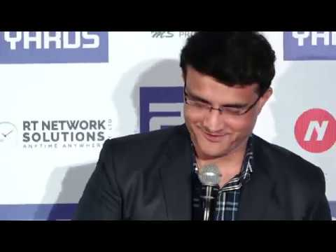 LIVE TRAILER LAUNCH OF FILM 22 YARDS PART 12 BY CHIEF GUEST SOURAV GANGULY