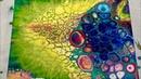 195 Wild Results w Liquitex PM Flip Cup Rain X Cell Test - Fluid Acrylic Paint Pouring Flow Art