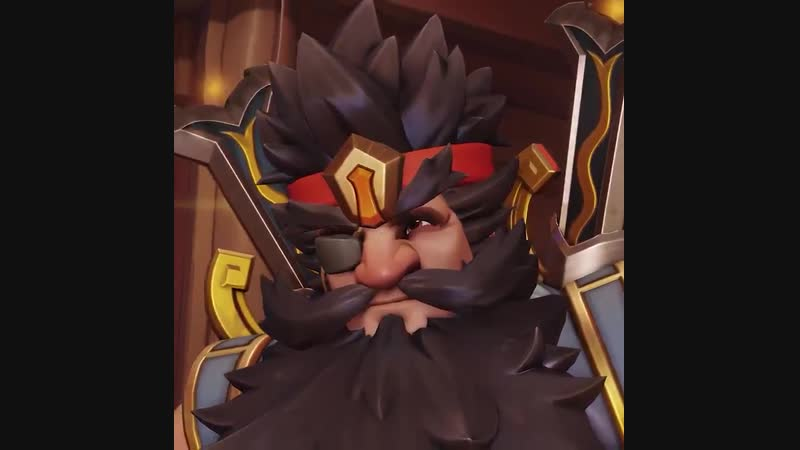 Protect the flag with your trusty turret as ZHANG FEI TORBJÖRN