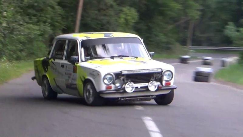 Zákányi-Vidécz Lada 2101 A-Híd Rallye Sprint 2018.