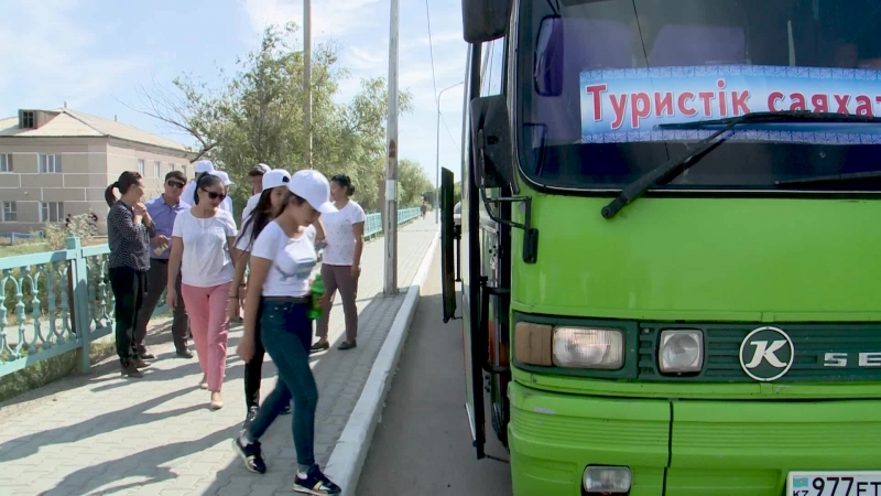 12.09.2018 - Shkolnikter saiaxat Korkyt Ata