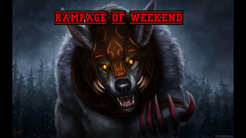 Rampage of weekend №3. Потный инвокер(Патч 7.20)