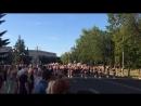 Дзень выпускнікоў у Маладзечне прайшоў пад Кацюшу