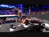 AJ Styles, Randy Orton &amp Shinsuke Nakamura vs. Kevin Owens &amp Sami Zayn SmackDown LIVE, Jan. 9, 2018