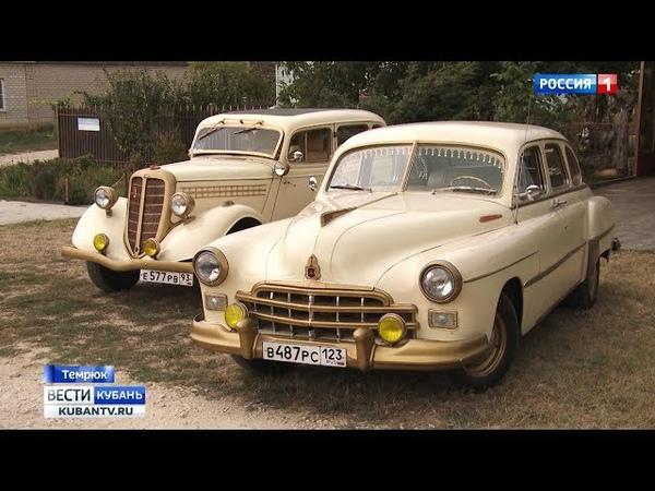 Советские ретро-автомобили возрождает автомеханик из Темрюкского района