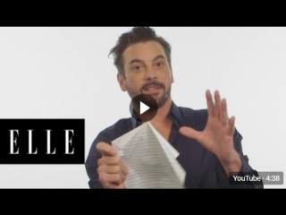 Skeet Ulrich Responds to Riverdale Fan Theories _ ELLE [RUS_SUB]