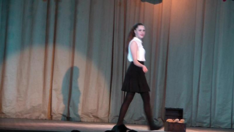 Воспоминание (Арина Золотарева) Концерт театра танца и моды Танцующая королева (23.05.2018)
