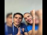 Защитник сборной Хорватии Вида посвятил победу Украине