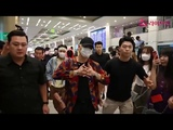 BTS on TAIWAN Airport Heading for Seoul