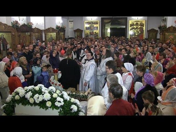 Пасхальная литургия 2018 храм Рождества Христова г Краснодар
