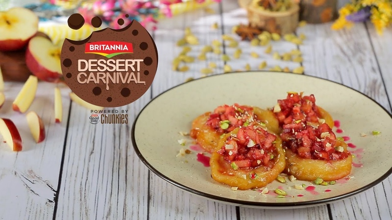 Fruit Malpua Recipe | Indian Dessert Recipe | Britannia Dessert Carnival | Chef Harpal Singh