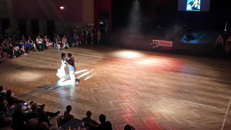 Pablo Inza y Sofia Saborido A la luz del candil Abrazo Tango Metz Festival
