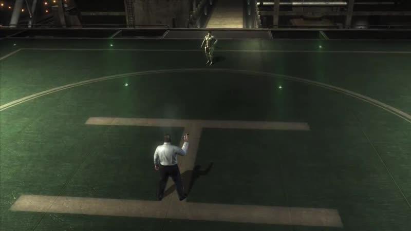 Metal Gear Rising- Revengeance прохождение боссов - 15. Senator Armstrong (бой за Сэма)