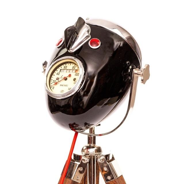 Modern Weld: Лампа из старой фары мотоцикла Урал