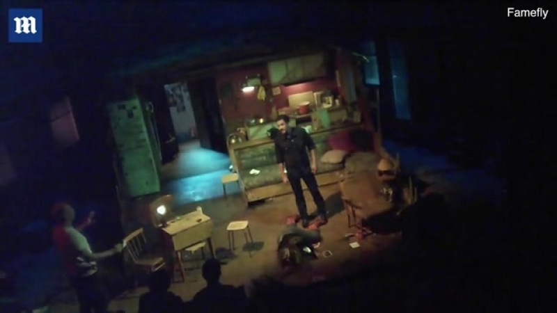 Actor bares all in new play Killer Joe
