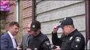 Полицию насторожил экофлешмоб перед сессией гор. совета Мариуполя