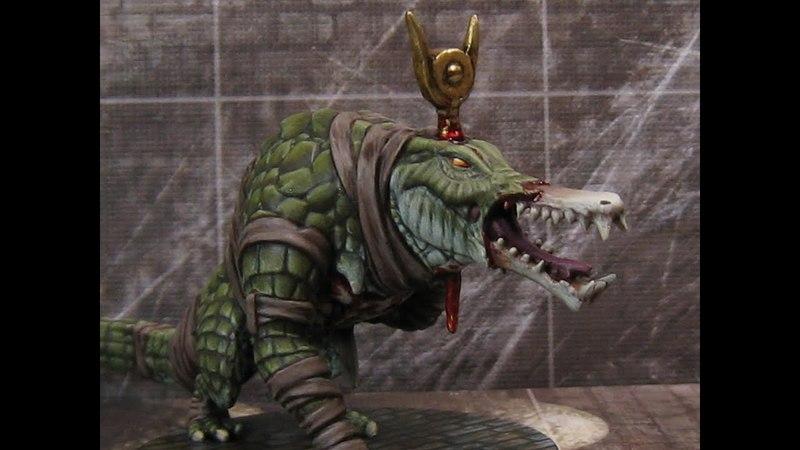 Painting Guide - 'Gator Skin/Croc Skin/Dragon Skin