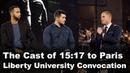 The Cast of 15:17 to Paris - Liberty University Convocation