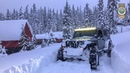 Oregon Snow Wheeling Jeep Deep Powder Nikson Overland
