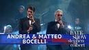 Andrea Matteo Bocelli Perform 'Fall On Me'
