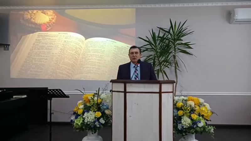 Проповедует Хохлов С.А.