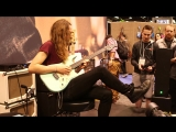 NAMM 2017 Nick Johnston Live At The Dunlop Booth -Pt 1