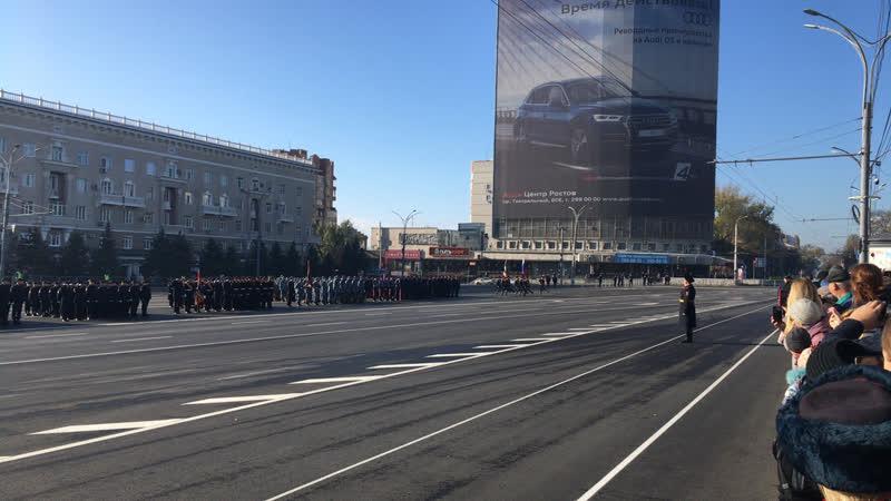 Стрим Парад в честь Дня сотрудника органов внутренних дел на Театральной площади