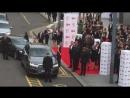 Sam Heughan and Caitriona Balfe arrive at BAFTA awards
