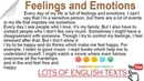 Feelings and Emotions Lots of English Texts with Audio