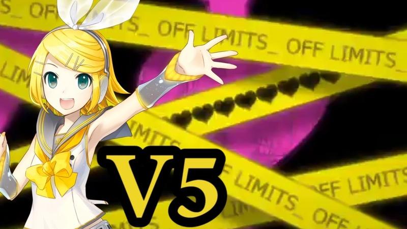 Kagamine Rin V4X Toosenbo I Won't Let You Through とおせんぼ Vocaloid 5 VSQX MP3