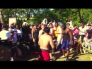 Muay Thai Legend vs Street Fighter Bare Knuckle Brawl