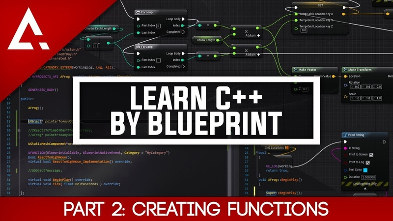 [UE4] Learn C By Blueprint - Part 2 Creating Functions