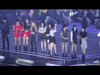180512 여자친구 (GFRIEND) 레드벨벳 (Red Velvet) 엔딩 4K 직캠 Fancam by -wA-