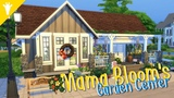 Mama Bloom's Garden Center - The Sims 4 - Speed Build (Seasons)