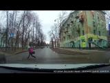 ДТП с пешеходом. Компрос, 77. Пермь.