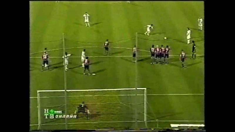 чемпионат Италии 2004/2005, матч за право остаться в серии A, 1-й матч, Парма - Болонья, нтв