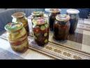 Очень вкусные маринованные огурцы и кабачки в кетчупе 3 в 1 😋😋😋