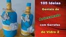 105 Ideias Geniais de Artesanato com Garrafas de Vidro 2 | Criando Maravilhas