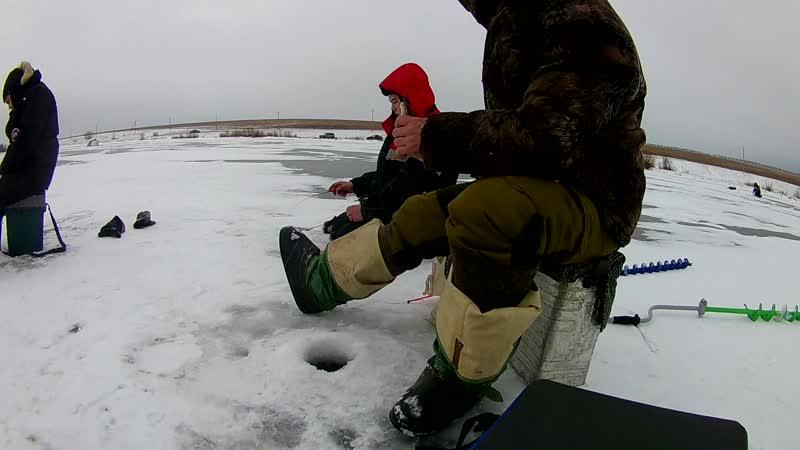 Соревнования по рыбалке в с.Каралачик 25.11.18