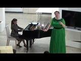 Юля Вакула. Украинская народная песня