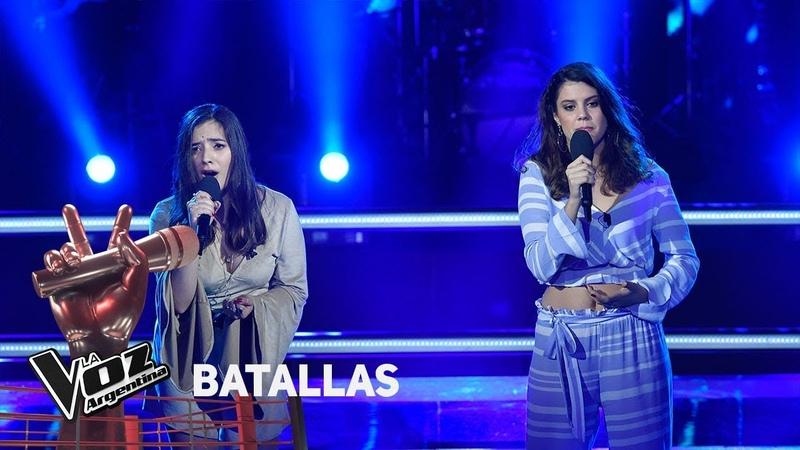 Camila Molina vs Bahía Lacarmon - Tanto amor - Abel Pintos - Batallas - La Voz Argentina 2018
