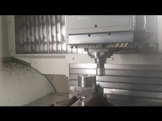 фрезерование керамическими пластинами сплава инконель