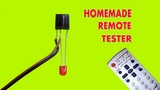 How to make a Simple IR Remote Control Tester