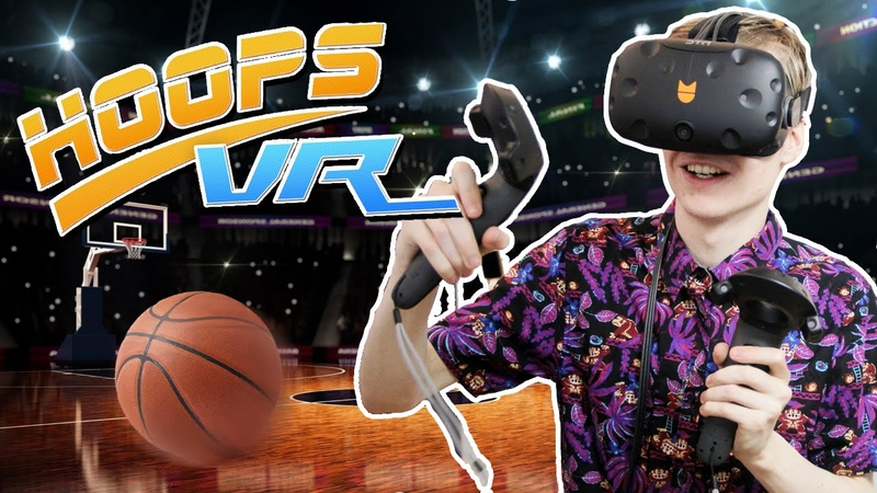 WILD BASKETBALL VR GAME! | Hoops VR (HTC Vive Gameplay)